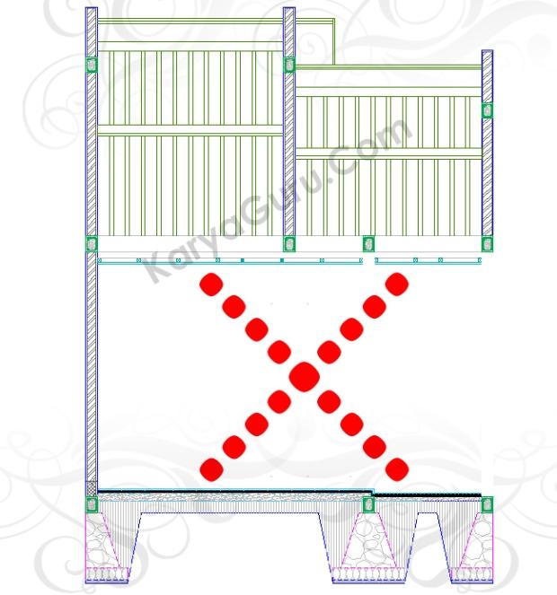 ERASE - Tutorial Belajar AutoCAD Gambar Kerja Potongan Rumah Tinggal ShopDrawing Section