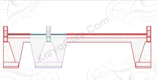 MODIFIKASI PONDASI - Tutorial Belajar AutoCAD Gambar Kerja Potongan Rumah ShopDrawing Section