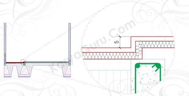LANTAI TOILET - Tutorial Belajar AutoCAD Gambar Kerja Potongan Rumah ShopDrawing Section