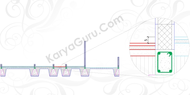 LEVEL TOILET - Tutorial Belajar AutoCAD Gambar Kerja Potongan C-C Rumah Tinggal ShopDrawing Section