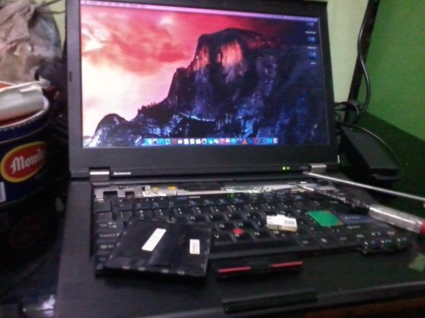 Hackintosh OSX ElCapitan Win7ProOriginal Lenovo T420 i7 DualVGA NVidia NVS + Intel HD