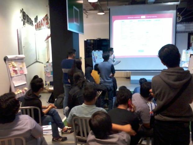 Materi Hari Kedua Workshop 1000StartupDigital di Jakarta 1A lokasi BukaLapak