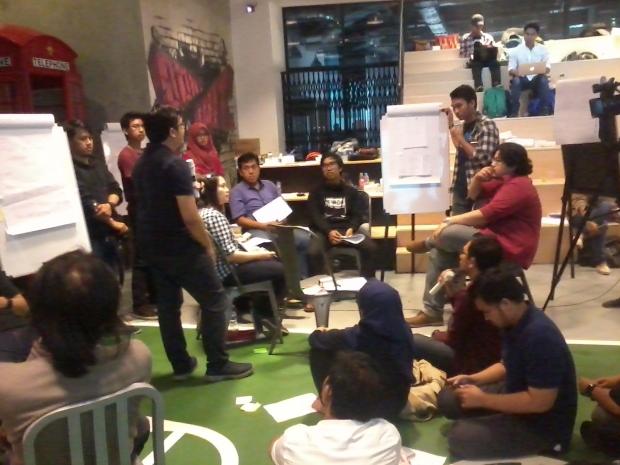 Materi Hari Pertama Workshop 1000StartupDigital di Jakarta 1A lokasi BukaLapak
