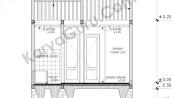 Tutorial Belajar AutoCAD Gambar Kerja Rumah Tinggal Potongan A-A ShopDrawing Section