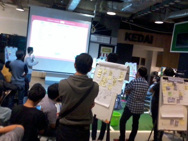 Workshop Hari Kedua sesi2 1000StartupDigital di Jakarta 1A lokasi BukaLapak