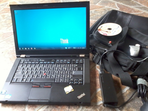 Jual Thinkpad T420 i7 4CPUs 2,8GHz Windows Original