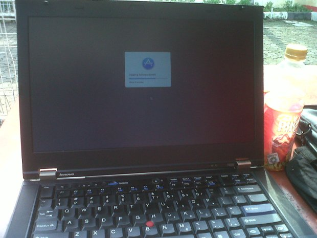 Update Hackintosh DualBooting MacOSX + Windows Lenovo Thinkpad T420 i7 4CPUs 2,8GHz