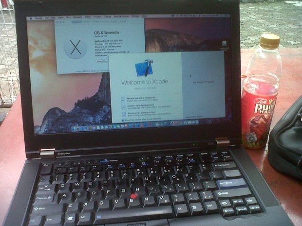 XCode Hackintosh DualBooting MacOSX + Windows Lenovo Thinkpad T420 i7 4CPUs 2,8GHz