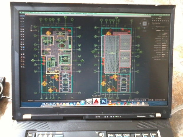 Autodesk AutoCAD 2015 di Laptop Hackintosh OSX Mavericks Lenovo Thinkpad T61p NVIDIA Quadro FX 570M