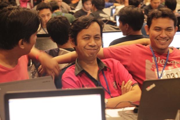 Selesai Pitching Hackathon hacksprint kemenkominfo 1000startupdigital