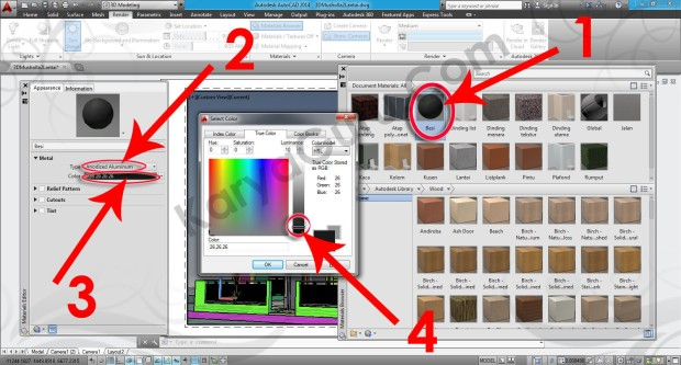 100-material-editor-layout-viewport-tutorial-autocad-3d
