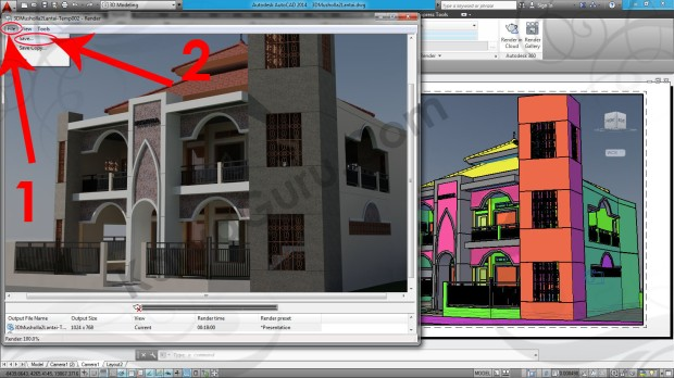 102-file-save-render-layout-viewport-tutorial-autocad-3d