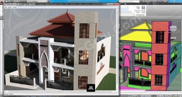 107-render-camera-3-layout-viewport-tutorial-autocad-3d