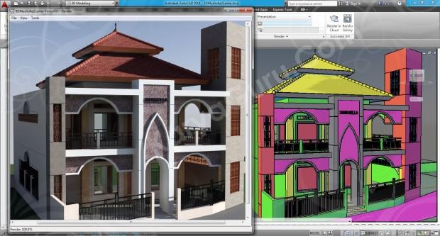 108-render-camera-4-layout-viewport-tutorial-autocad-3d