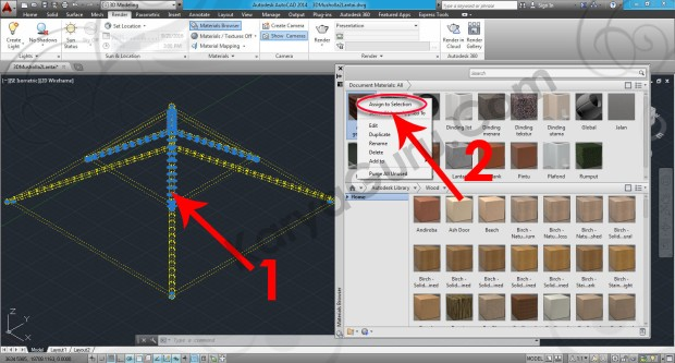 57-assign-to-selection-roofing-spanish-tile-red-3-material-browser-autocad-tutorial