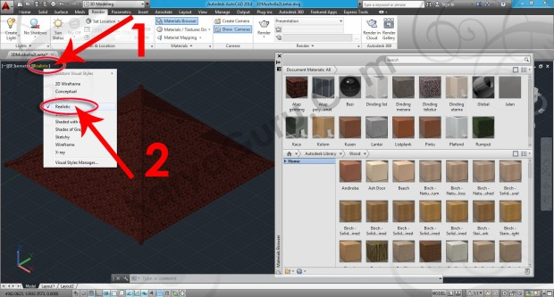 58-visual-style-realistic-autocad-tutorial