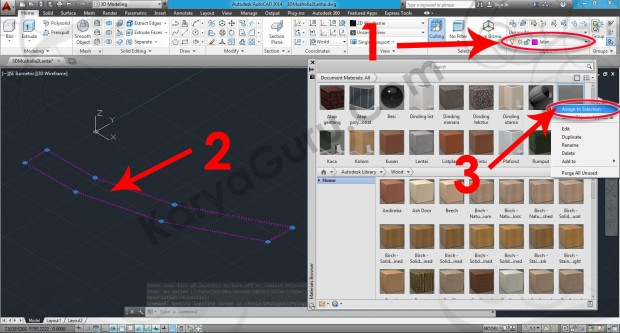 67-assign-to-selection-sitework-asphalt-2-material-browser-tutorial-autocad-3d