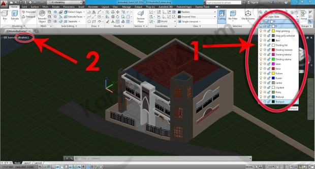 76-visual-style-realistic-material-browser-tutorial-autocad-3d