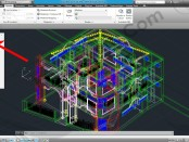 78-top-view-tutorial-autocad-3d