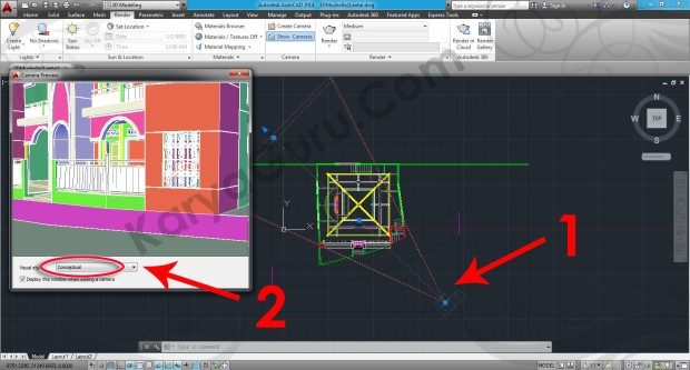 83-camera-preview-tutorial-autocad-3d