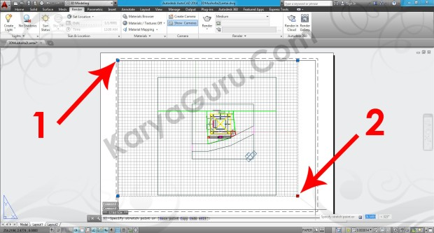 85-strecth-layout-grip-viewport-tutorial-autocad-3d