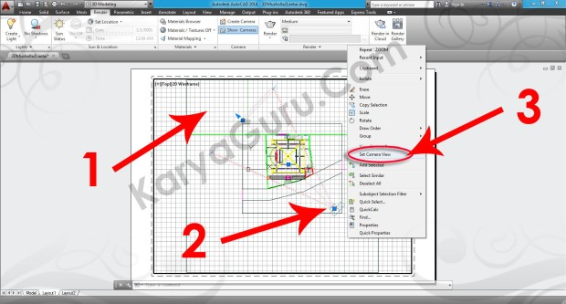 86-set-cameraview-viewport-tutorial-autocad-3d