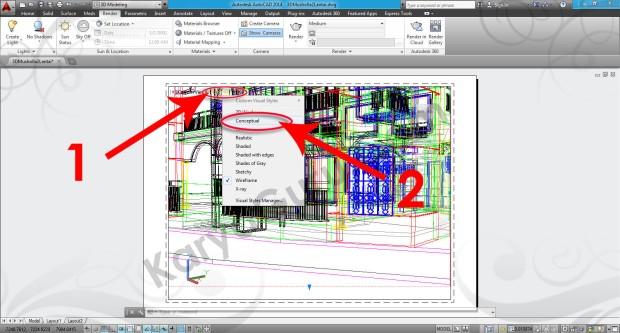 87-visual-style-conceptual-viewport-tutorial-autocad-3d