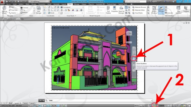 93-zoom-realtime-viewport-tutorial-autocad-3d