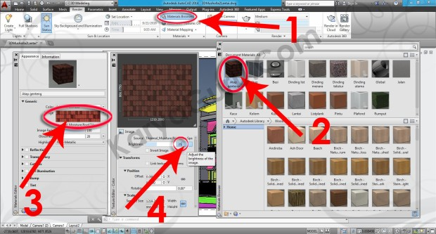 99-material-browser-texture-editor-layout-viewport-tutorial-autocad-3d