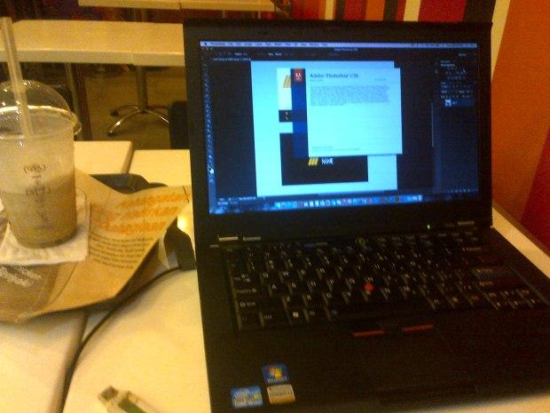 coba-adobe-photoshop-laptop-hackintosh-thinkpad-t420s-dualboot-osx-elcapitan-windows7-professional-di-mcdonalds