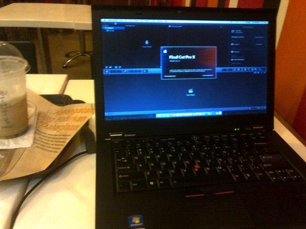 coba-final-cut-pro-laptop-hackintosh-thinkpad-t420s-dualboot-osx-elcapitan-windows7-professional-di-mcdonalds