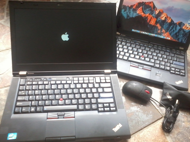 jasa-install-hackintosh-macos-sierra-lenovo-thinkpad-t420-dualboot-dengan-windows-7-professional-64bit-thinkpad-logo-apple-booting