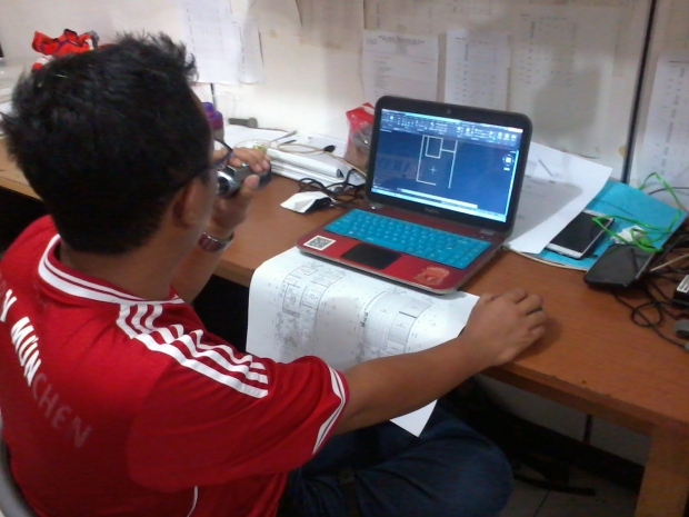 Materi Dinding Kursus Private AutoCAD di Jl. Panglima Polim Raya Kebayoran Baru Jakarta Selatan