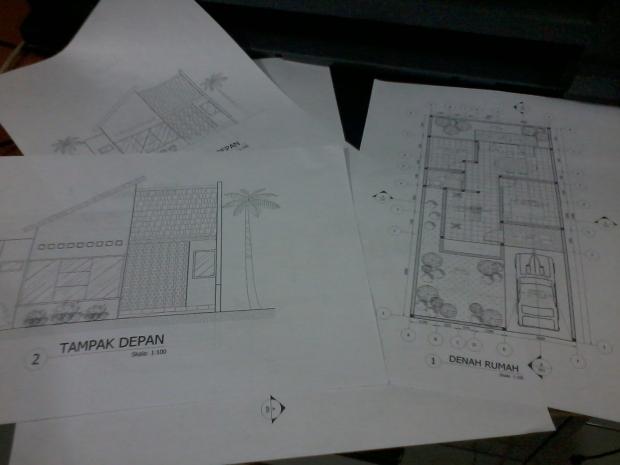 Materi Print Cetak Tampak Muka Kursus Private AutoCAD di Jl. Panglima Polim Raya Kebayoran Baru Jakarta Selatan