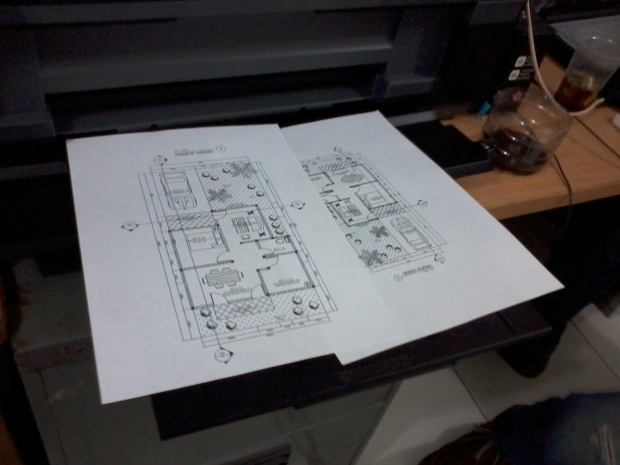 Materi printout cetak Kursus Private AutoCAD di Jl. Panglima Polim Raya Kebayoran Baru Jakarta Selatan
