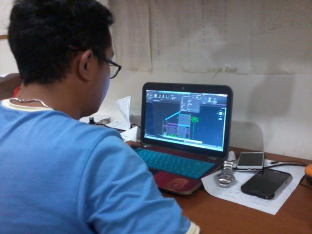 Materi Tampak Depan Kursus Private AutoCAD di Jl. Panglima Polim Raya Kebayoran Baru Jakarta Selatan