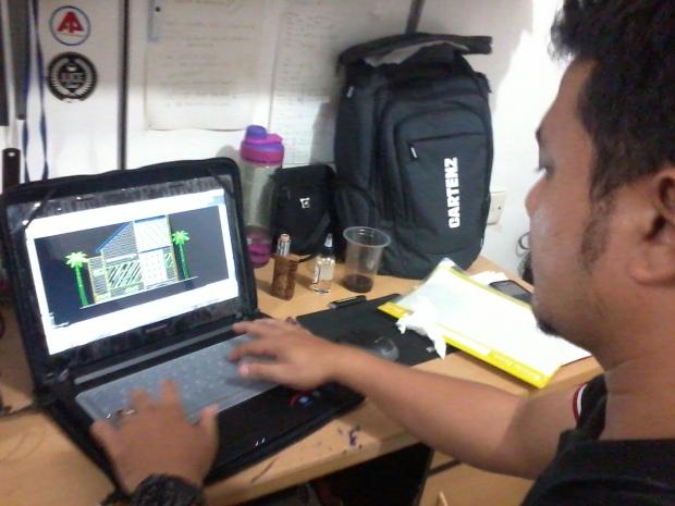 Materi Tampak Muka Kursus Private AutoCAD di Jl. Panglima Polim Raya Kebayoran Baru Jakarta Selatan