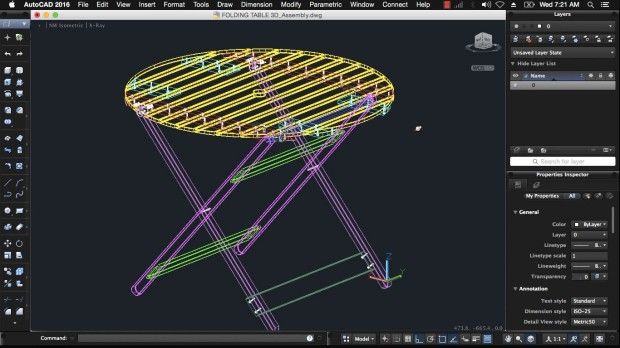 3d-modeling-folding-table-autocad-for-mac