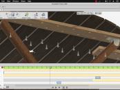 Animation Timeline Autodesk Fusion360 - Folding Table Top Frame KaryaGuruCenter