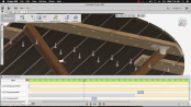 Animation Timeline Autodesk Fusion360 - Folding Table Top Frame KaryaGuruCenter