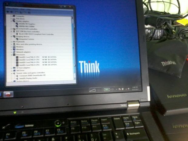 Lenovo Thinkpad T410 Core i5 DualVGA Nvidia NVS 3100M IntelHD