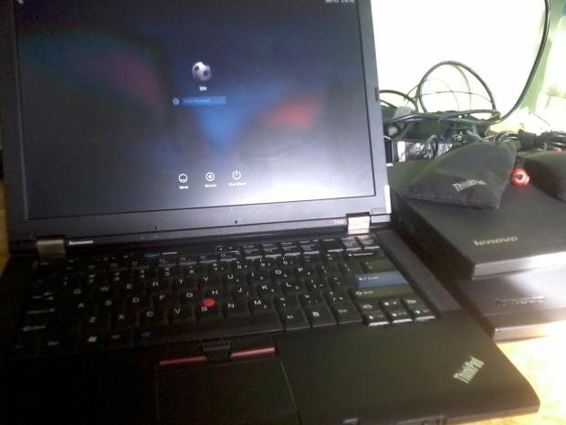 Login Hackintosh MacOSX Thinkpad T410 VGA Nvidia Quadro NVS 3100M