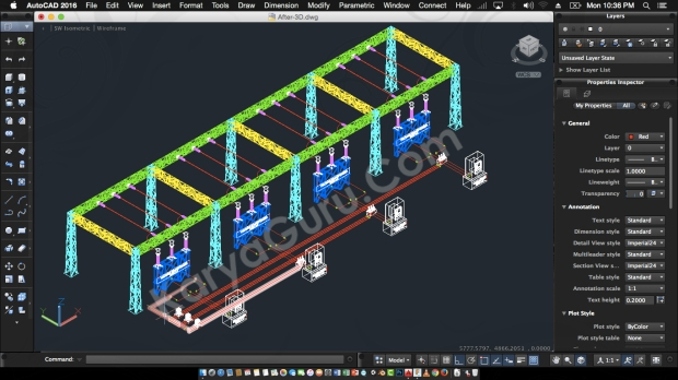 AutoCAD 3D Modeling InterChangeAble Voltage Relay After Innovation
