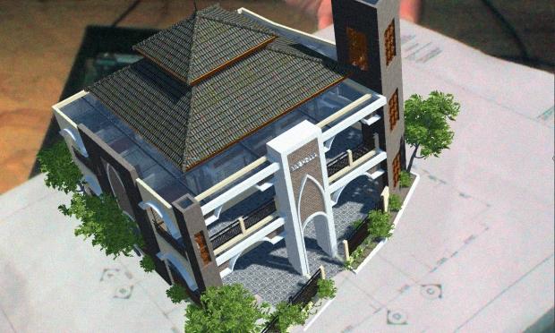 Augmented Reality untuk Desain Arsitektur Eksterior Bangunan 2 Lantai