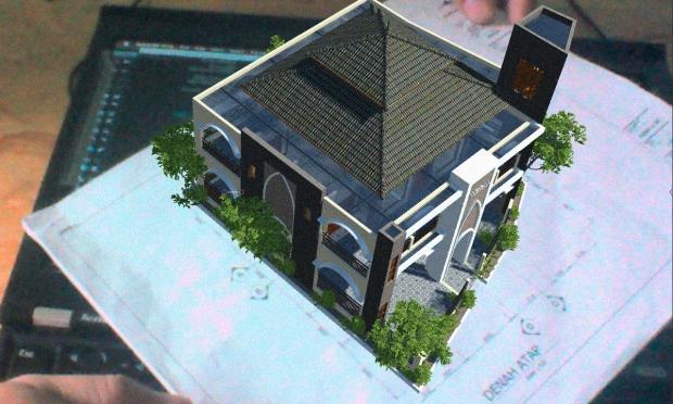 Augmented Reality untuk Desain Arsitektur Eksterior Musholla