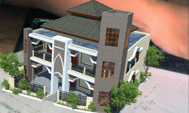 Augmented Reality untuk Desain Arsitektur Eksterior