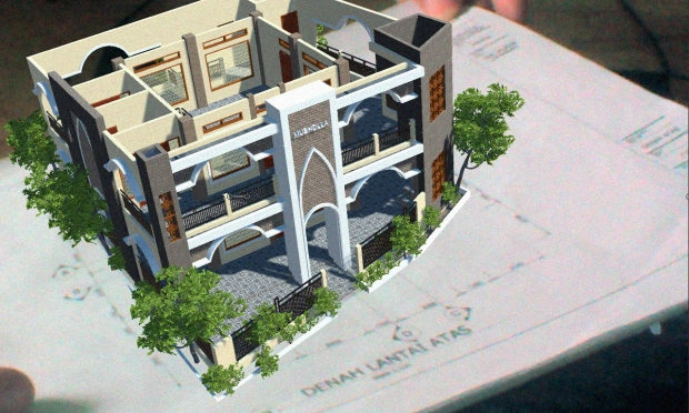 Augmented Reality untuk Desain Arsitektur Interior Bangunan Bertingkat