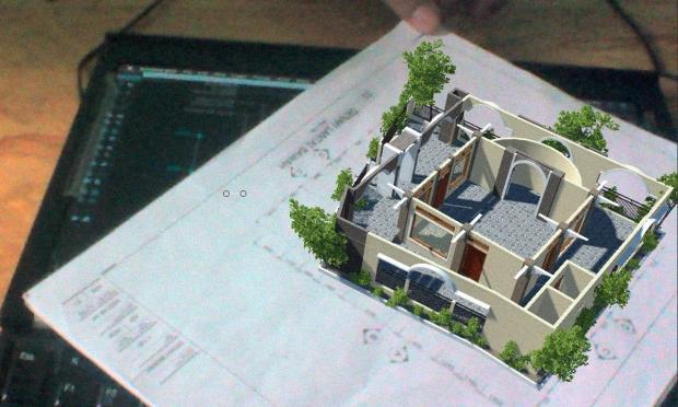 Augmented Reality untuk Desain Arsitektur Interior Musholla