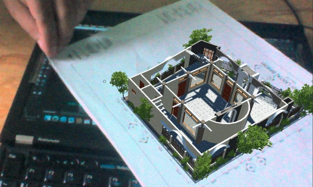 Augmented Reality untuk Desain Arsitektur Interior