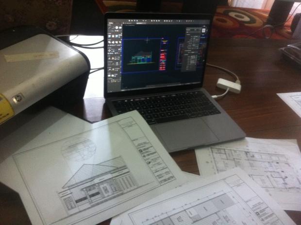 Hasil Print Cetak Kursus Private AutoCAD for Mac di Srengseng Sawah Jagakarsa Jakarta Selatan